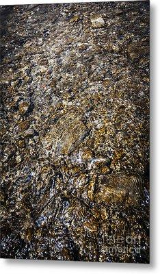 Rocks In Water Metal Print by Elena Elisseeva