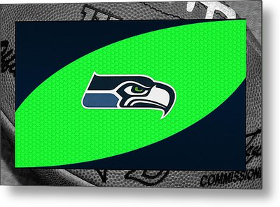 Seattle Seahawks Metal Print by Joe Hamilton