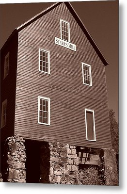 Starr's Mill Ga Metal Print by Jake Hartz