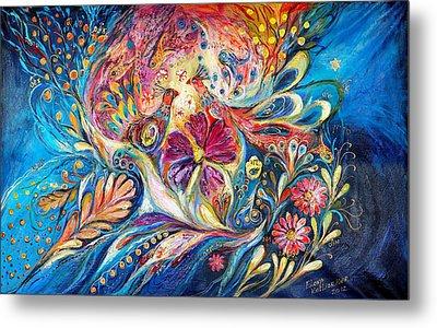 The Flowers Of Sea Metal Print by Elena Kotliarker