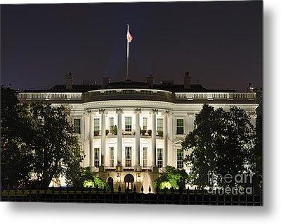The White House Metal Print by John Greim