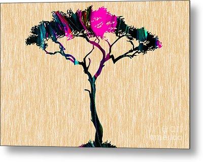 Tree Wall Art Metal Print by Marvin Blaine
