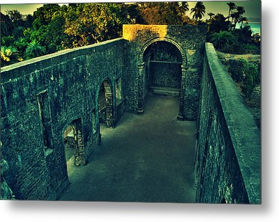 Vasai Fort Metal Print by Salman Ravish