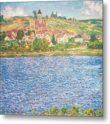 Vetheuil Metal Print by Claude Monet