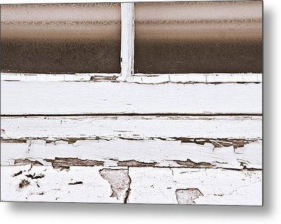 Window Frame Metal Print by Tom Gowanlock