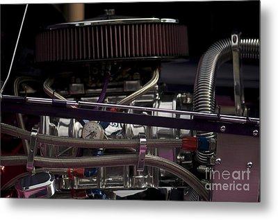 '31 Crown Victoria Engine Metal Print by Sean Stauffer