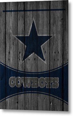 Dallas Cowboys Metal Print by Joe Hamilton