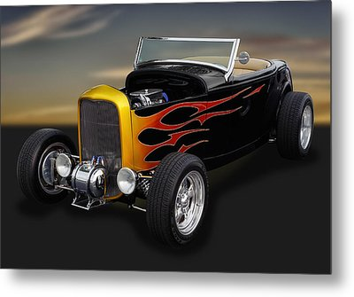 1932 Ford - Grounds 4 Divorce Metal Print by Frank J Benz