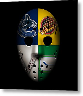Vancouver Canucks Metal Print by Joe Hamilton