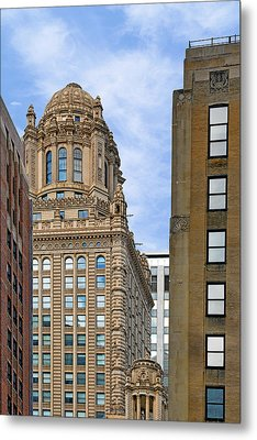 35 East Wacker - Jewelers' Building Chicago Metal Print by Christine Till