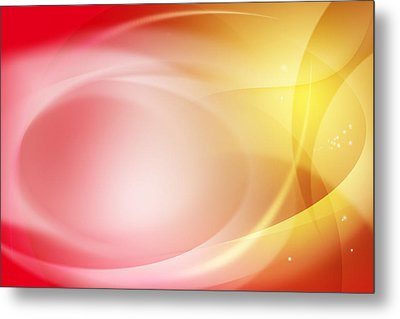 Abstract Background. Metal Print by Les Cunliffe