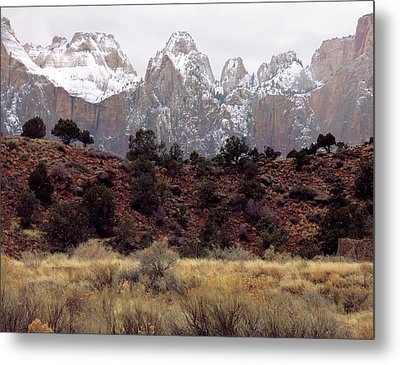 Zion National Park, Utah Metal Print by Scott T. Smith