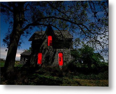 3am At The Farmhouse  Metal Print by Cale Best