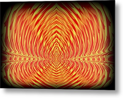 Abstract 98 Metal Print by J D Owen