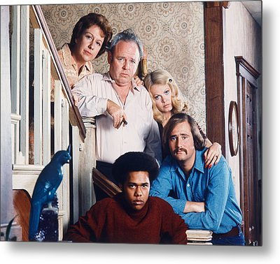 All In The Family  Metal Print by Silver Screen