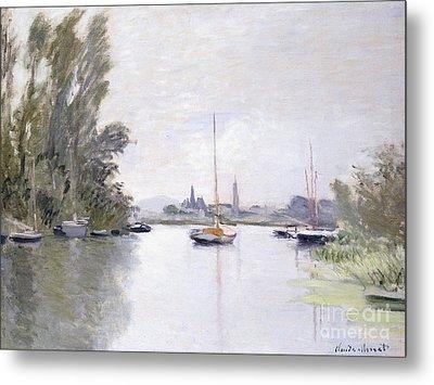 Argenteuil Metal Print by Claude Monet