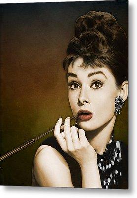 Audrey Hepburn Metal Print by Retro Images Archive
