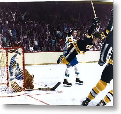 Bobby Orr Metal Print by Retro Images Archive