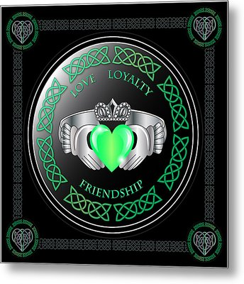 Claddagh Ring Metal Print by Ireland Calling