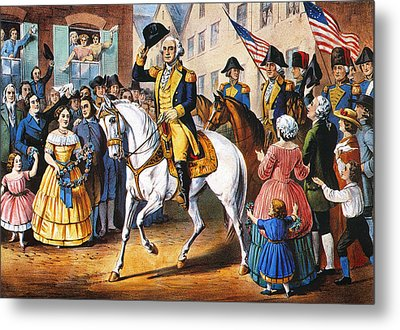George Washington Metal Print by Granger