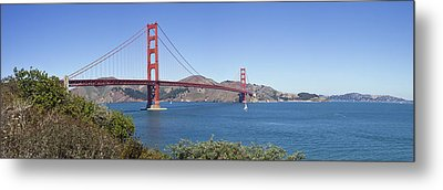 Golden Gate Bridge Metal Print by Melanie Viola