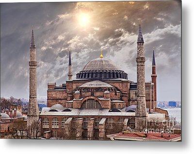 Hagia Sophia Istanbul Metal Print by Sophie McAulay