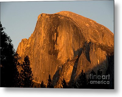 Half Dome, Yosemite Np Metal Print by Mark Newman