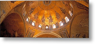 Italy, Venice, San Marcos Cathedral Metal Print by Panoramic Images
