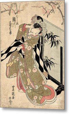 Japan: Tale Of Genji Metal Print by Granger