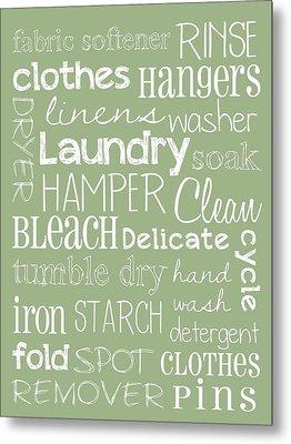 Laundry Room Metal Print by Jaime Friedman