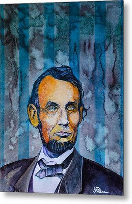 Lincoln Metal Print by Scott  Parker