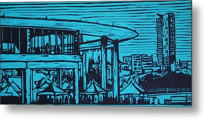 Long Center Metal Print by William Cauthern