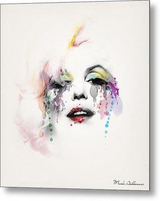 Marilyn Monroe Metal Print by Mark Ashkenazi