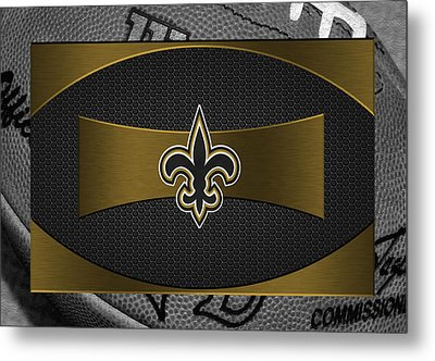 New Orleans Saints Metal Print by Joe Hamilton