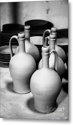 Pottery Metal Print by Gaspar Avila