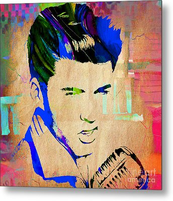 Ricky Nelson Collection Metal Print by Marvin Blaine
