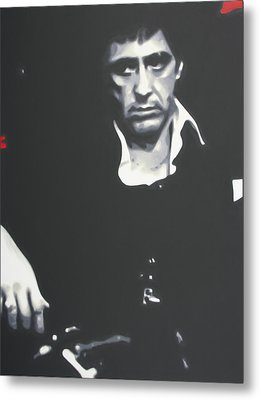 Scarface 2013 Metal Print by Luis Ludzska