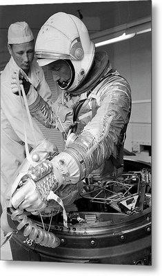 Scott Carpenter Metal Print by Nasa
