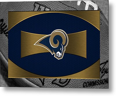 St Louis Rams Metal Print by Joe Hamilton
