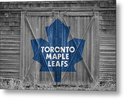 Toronto Maple Leafs Metal Print by Joe Hamilton