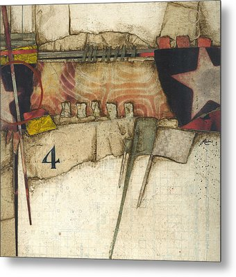 4 You're The Third Star Metal Print by Laura  Lein-Svencner