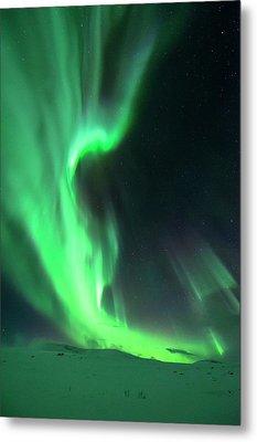 Aurora Borealis Metal Print by Tommy Eliassen