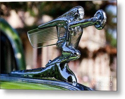41 Packard Badge Metal Print by Alan Look