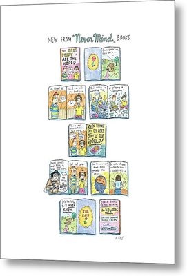 Untitled Metal Print by Roz Chast