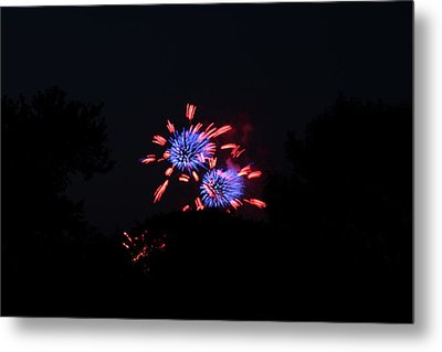 4th Of July Fireworks - 011324 Metal Print by DC Photographer
