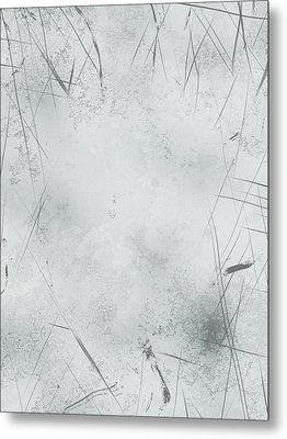 004 Abstract Metal Print by Mark Brooks