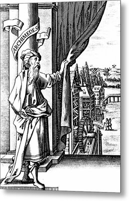 Archimedes Metal Print by Universal History Archive/uig