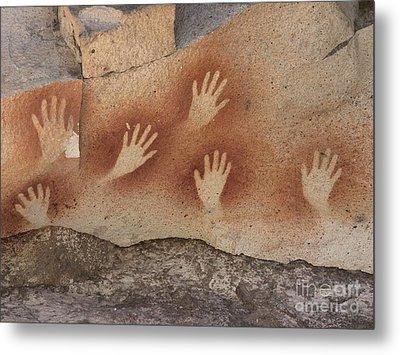 Cave Of The Hands Argentina Metal Print by Javier Trueba MSF SPL