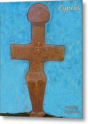 Cyprus Idol Of Pomos Metal Print by Augusta Stylianou