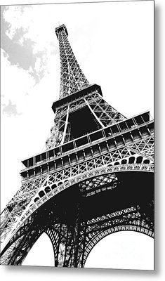 Eiffel Tower Metal Print by Elena Elisseeva